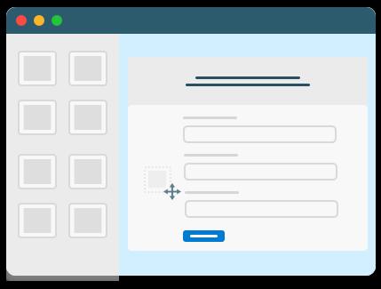 Drag & Drop Landing Page Editor