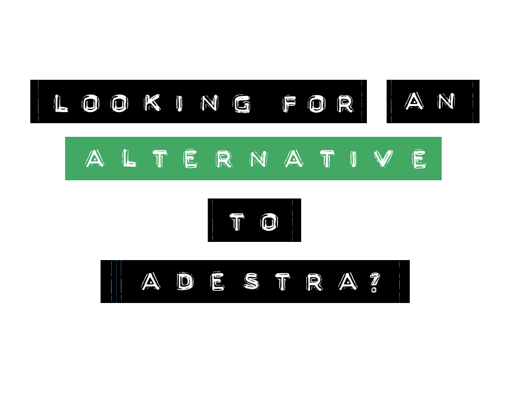 Looking for an alternative to Adestra