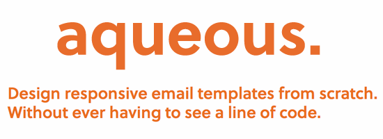 Aqueous - Responsive Email Templates