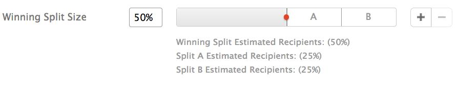 Instiller Split Testing