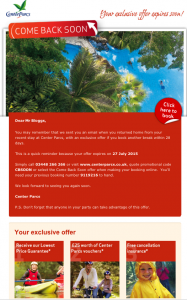 centerparcs-come-back-soon-offer