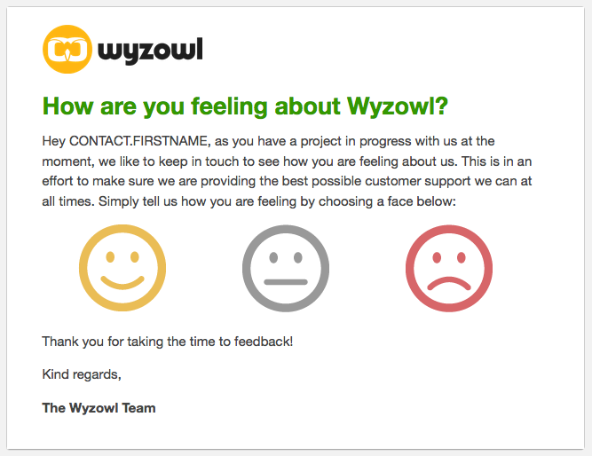 Email workflows - Wyzowl review