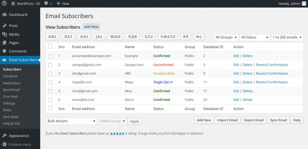 Wordpress - Instiller