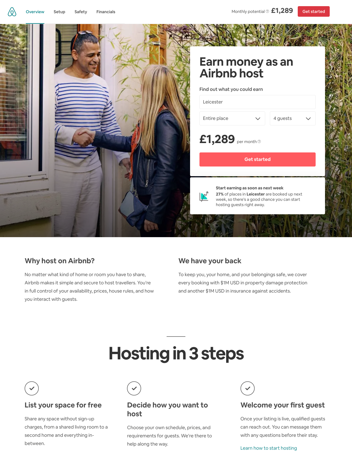 Airbnb - Landing Page